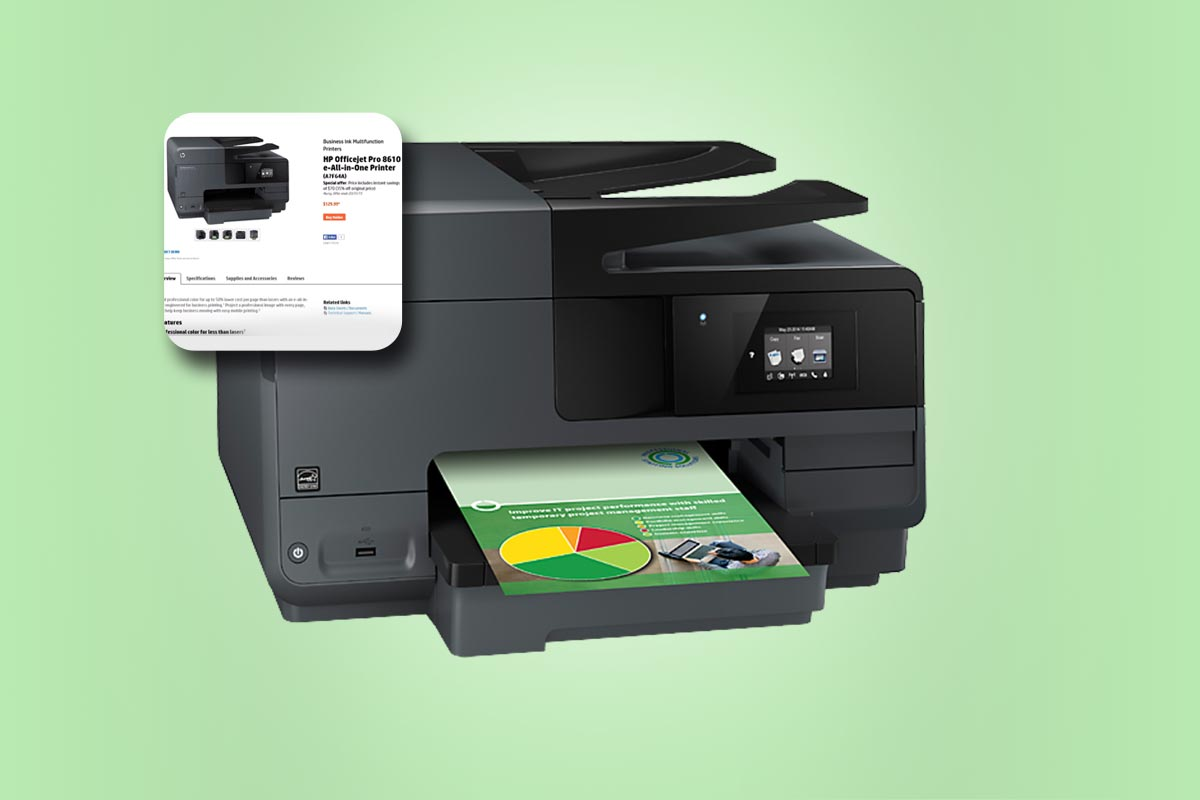Guidelines For HP Officejet Pro 8610 Software Installation ...