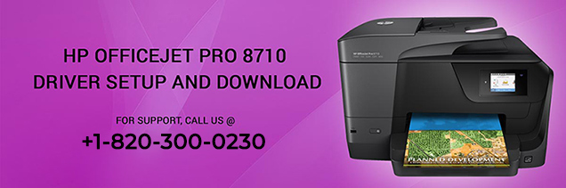 HP OfficeJet Pro 8710 driver setup and download