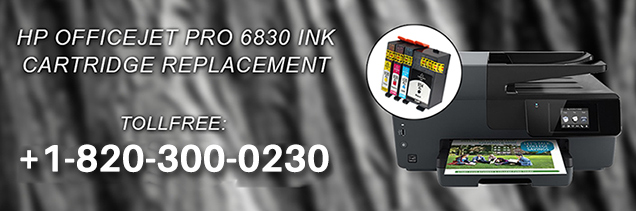 HP Officejet Pro 6830 Ink