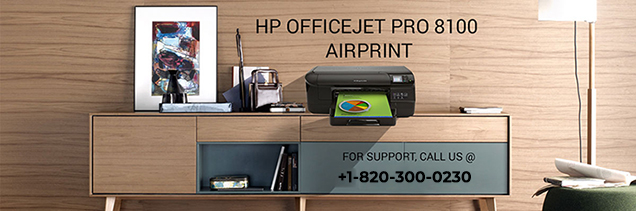 HP Officejet pro 8100 AirPrint
