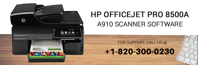 HP OfficeJet Pro 8500a a910 scanner software download