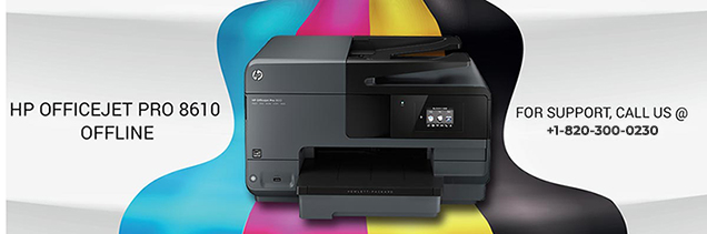 HP Officejet Pro 8610 Offline Issue