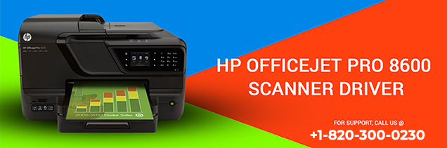 HP OfficeJet Pro 8600 Scanner Driver